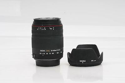 Sigma AF 28-300mm f3.5-6.3 DG Macro Lens Canon EF                           #251