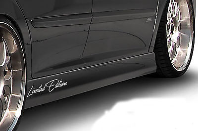 SET 2x Limited Edition Auto Aufkleber Sticker Folie Sports Mind Motorsport 01