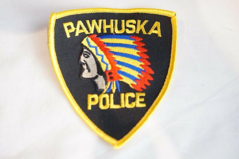 US Pawhuska Oklahoma Police Patch