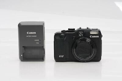 Canon PowerShot G12 10MP Digital Camera w/5x IS Zoom                        #067