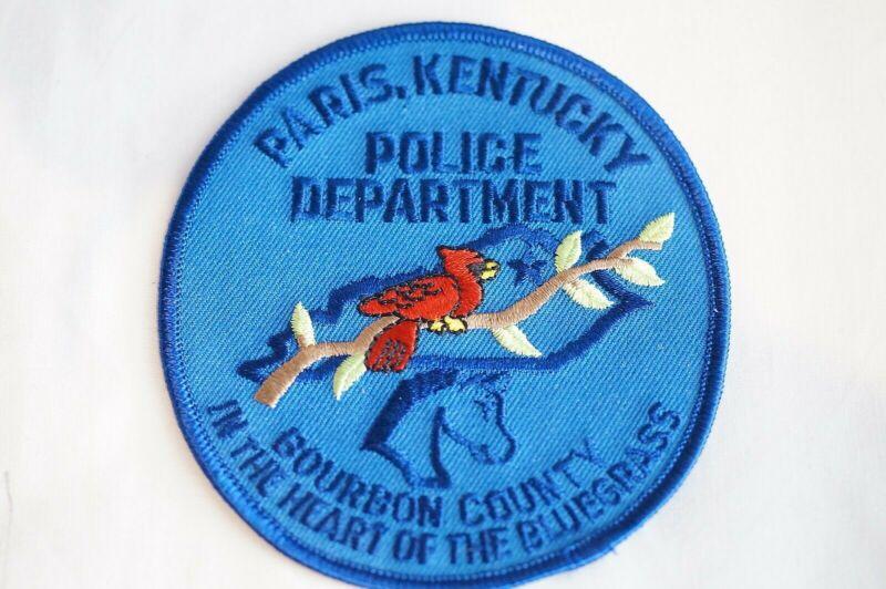 US Paris Kentucky Police Patch