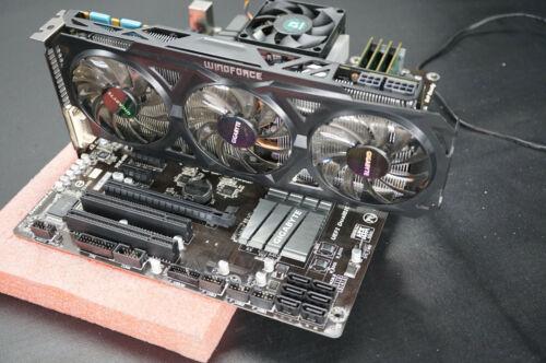 Gigabyte GA-970A-UD3P Motherboard + AMD FX-6300 + 8GB DDR3 + GTX 760 GPU COMBO