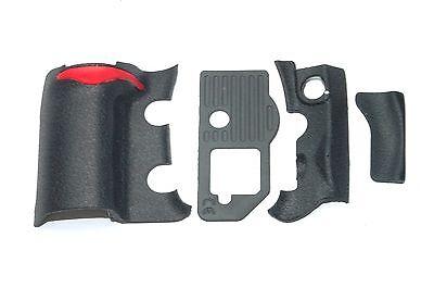4 Pieces Repair Part of Grip Rubber Unit for Nikon D300S DSLR CAMERA Replacement