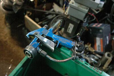 Graco Alpha Air Assisted Spray Gun. Air Fan Adjustable Blue