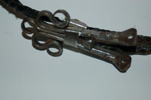 Vintage Iron Scroll Art Bolo Tie