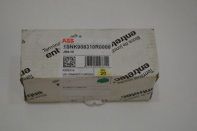 20 Terminal Block Jumper Bar 10 Pole 8mm Part 1snk908310r0000