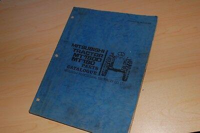 Mitsubishi Mt1800 Mt180 Tractor Parts Manual Book Spare List Catalog Farm Engine