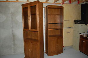 """60"""" wide 2pc wall unit, w/ hidden compartment Windsor Region Ontario image 2"""