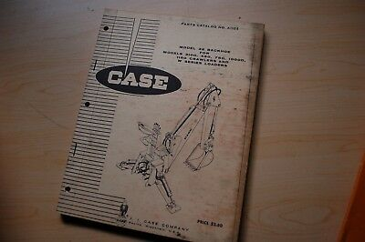 Case 310g 450 750 1000d 1150 Crawler Model 32 Backhoe Parts Manual Book Catalog