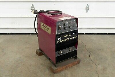 Thermal Arc Power Master 500 100060a Mig Robot Welder Spot Weld Power Supply