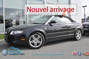 2007 Audi A4 Decapotable *QUATTRO*AUTOMATIQUE*CUIRE*GR ELEC*