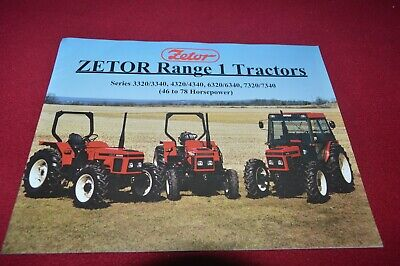 Zetor 3320 3340 4320 4340 6320 6340 7320 7340 Tractor Dealers Brochure CDIL ver2 na sprzedaż  Wysyłka do Poland