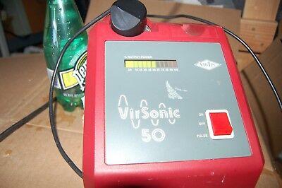 Virtis Virsonic 50 Cell Disruptor Homogenizer Sonic Sonicator Sonifier Horn Qs