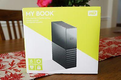 WD 6TB My Book Desktop External Hard Drive - USB 3.0  - Black