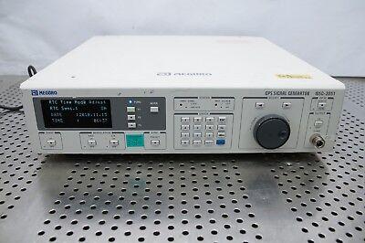 Anritsu Msg2051 Meguro Gps Signal Generator 1.57542 Ghz 10 Khz Calib Jul 201