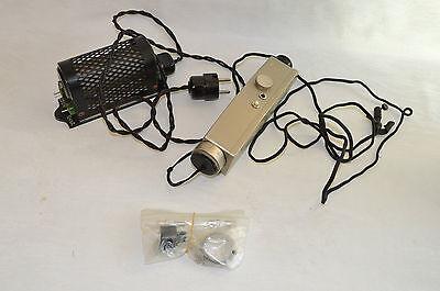 Antiker Busch Hand-Augenspiegel Ophtalmoscope /i2