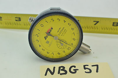 Sunnen 2113ssn Dial Indicator 6 Jewels 0.002mm Bore Gage Dial Indicator .