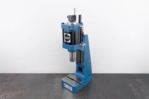 "Schmidt 23-023-94 Pneumatic Air Press Bench Press 1-7/8"" Stroke Used"