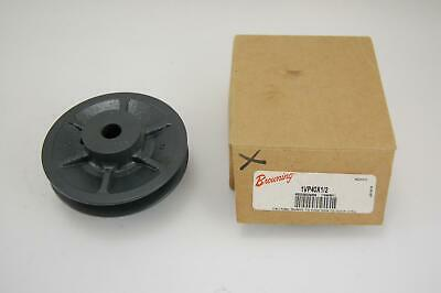 Browning 1vp40x12 Cast Iron Single Groove Pulley Sheave