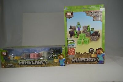Minecraft Pet Series 2 Overworld + Hostile Mobs 30 Piece Craft Lot 2D2A