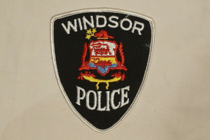 Canadian Ontario Windsor Police Patch Single