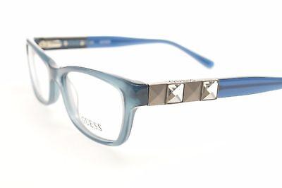 NEW ORIGINAL GUESS GU 2414 BL Crystal Light Blue Women's Eyeglasses 53mm 16 135