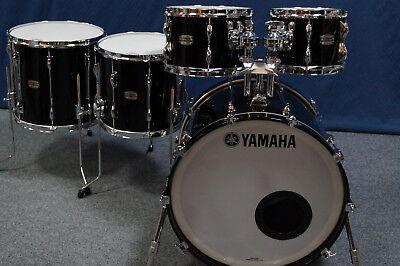 "Yamaha Recording Custom Shellset in ""SOLID BLACK"" - 22,10,12,16""   segunda mano  Embacar hacia Spain"