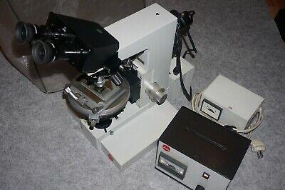 Leitz Ortholux Ii Pol-mk Polarizing Microscope
