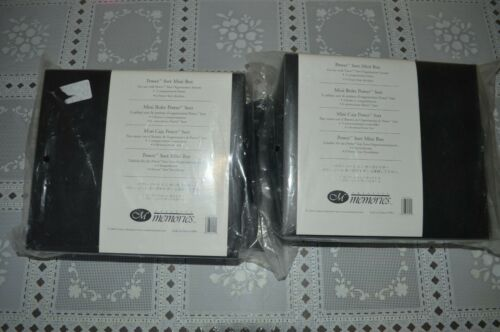 2 NEW CREATIVE MEMORIES Power Sort Mini Box Photo Organization (6Box 12Dividers)