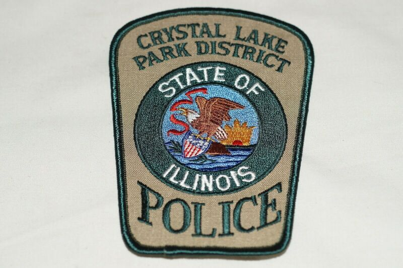 US Crystal Lake Park District Illinois Police Patch