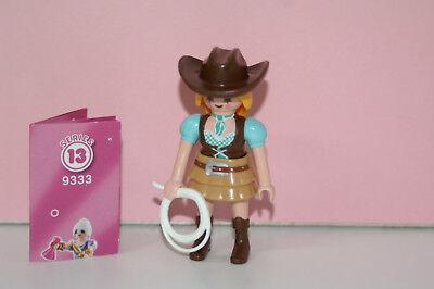 Playmobil 9333 Figures Girls Serie 13 Cowboy Cowgirl Frau mit Lasso Western