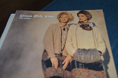 - Classic Elite Knitting Pattern 469 Avalon