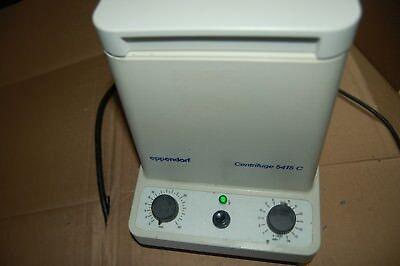 Eppendorf Centrifuge 5415c Microcentrifuge 14000 Rpm Laboratory Micro 5415 C Aw