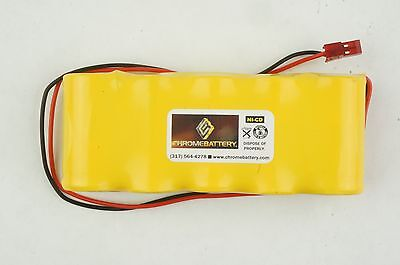 Emergency Lighting Replacement Battery 6v 1900 Mah Replaces Baghelli 026139