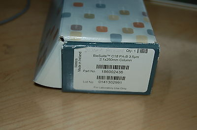 New Hplc Column Waters Biosuite C18 Pa-b 250x2.1 Mm 3.5um 186002436 Opened