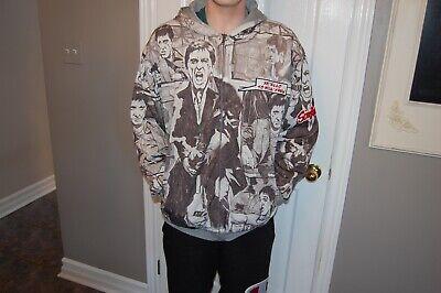 Scarface reversible hooded jacket. Tony Montana One side with logo