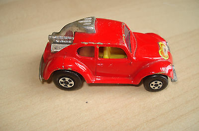 Matchbox Superfast No 31 Red Volks Dragon Beetle Car