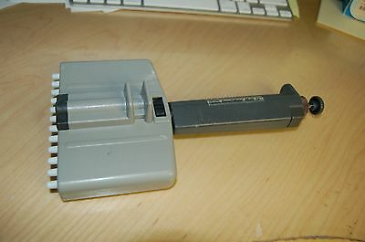 Oxford Multichannel Benchmate Pipette Pipet Variable Volume Multi-12 40-200 Ul