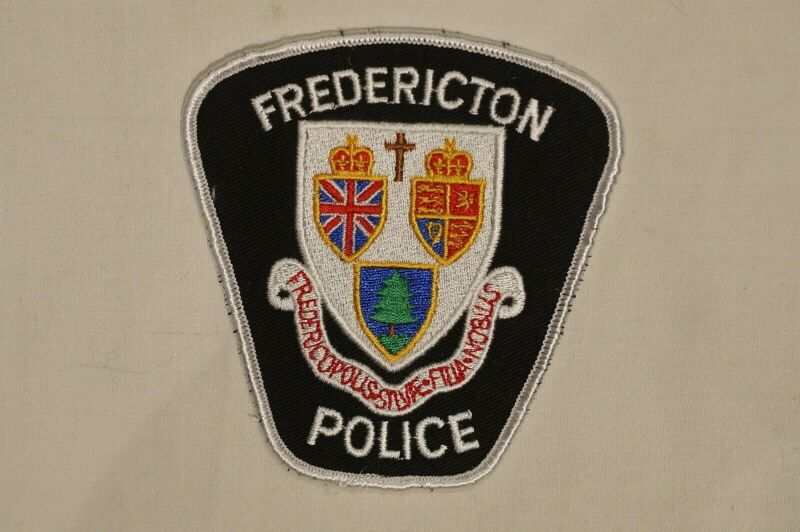 Canadian New Brunswick Fredericton Police Patch