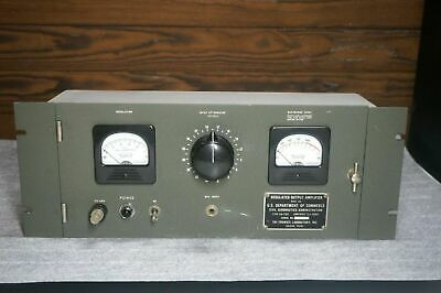Vintage Tri-Tronics Maxson Dept of Commerce Tube Compressor Limiter Refurbished