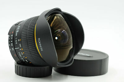 Rokinon Manual Focus AE 8mm f3.5 Fish-Eye CS Lens 8/3.5 Nikon AF Mount      #792