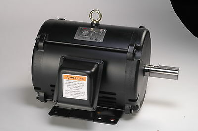 2 Hp Electric Motor 145t 3 Phase Open Drip Proof 3490 Rpm 208-230460 Volt