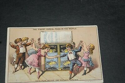 "VINTAGE TRADE CARD ""AUSTIN NICHOLS & CO"" SUPERIOR TABLE FOODS."