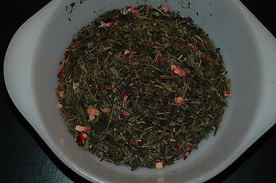 Cherry green loose leaf tea  30 count  bag fresh
