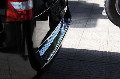 Mercedes Benz Vito W447 2014 Chrome Rear Bumper Protector Scratch Guard SSteel