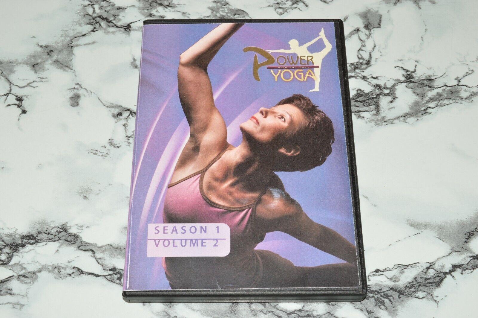 Power Yoga - Mind And Body - Season 1 One Volume 2 Two -- DVD  - $12.68