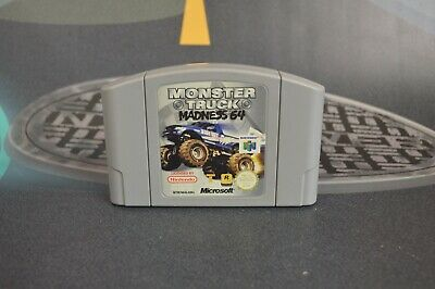 Monster Truck Madness 64 (Nintendo 64 N64 1997) Solo cartucho