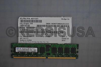 Samsung 1GB PC2-3200 DDR2-400MHz DIMM Single Rank Memory Module M393T2950CZ3-CCC