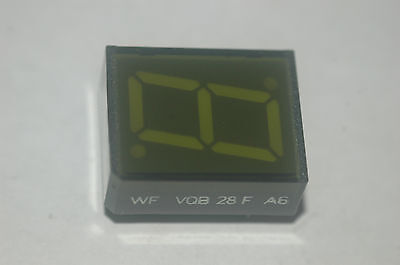 Wf Vqe-28f-a6 1-digit 7-segmented Greed Display Quantity-2