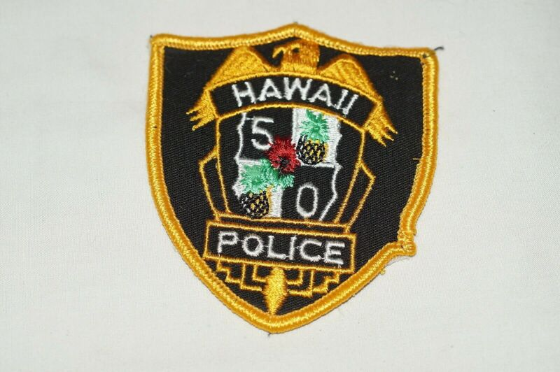 US Hawaii 5O Hawaii Police Patch 1 Small